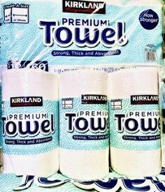 ★3ロール★【送料無料!】カークランド KIRK LAND ペーパー タオル 140シート 3ロール 2枚重ね【個別包装】 Paper Towels 3roll【コストコ通販】