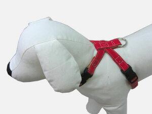 【首輪処】 犬用 ハーネス おしゃれかわいい 丈夫な生地の定番のハンプの生地がお散歩中も目をひく 帆布生地を使用 (SSサイズ)犬 ハーネス チロリアンシリーズ ハンプ SSサイズ