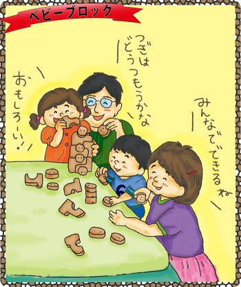 【送料無料】●ベビーブロック積み木知育玩具ブロック型はめ木のおもちゃパズル男の子女の子赤ちゃんおもちゃ3歳4歳5歳6歳7歳8歳9歳10歳誕生日ギフト誕生祝い出産祝いに♪親子木育家族日本製