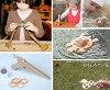 2-3 Year Old Birthday Celebration Set (H Type)  Wooden Toys (Ginga Kobo Toys) Japan