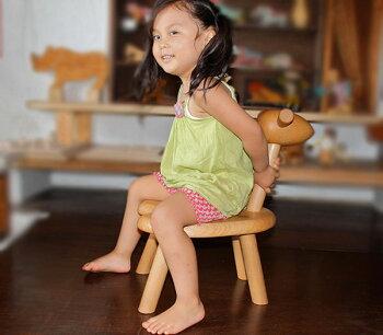 ひつじ椅子木のおもちゃ知育玩具銀河工房子供椅子こども家具WoodenToys(GingaKoboToys)Japan