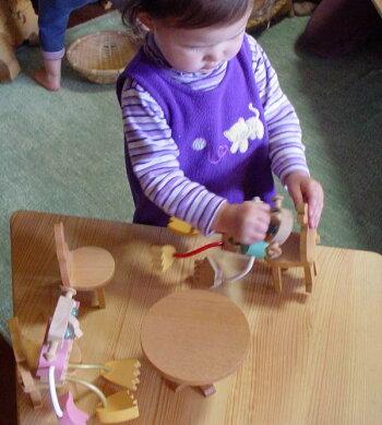 丸テーブル木のおもちゃ知育玩具銀河工房おしゃぶりガラガラ赤ちゃんベビー積木ブロック子供家具
