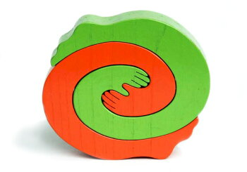手と足木のおもちゃ知育玩具ギフト