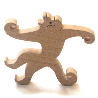 Monkey Hook Wooden Toys (Ginga Kobo Toys) Japan