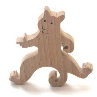 -Pussy hook (A) room accessories wooden toy made Japan one year old 2 years 3 years 4 years 5 years infant children-elderly birthday gift decor rattling birthday woodworking craftsmen hand-made ornament rattle rattle boy girl baby toy P25Jun15