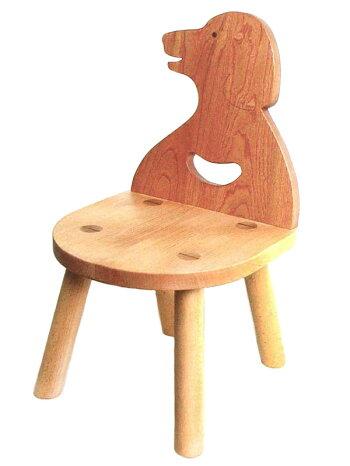 いぬ椅子木のおもちゃ知育玩具銀河工房子供家具赤ちゃんベビー積木ブロックこども椅子子供椅子動物いす