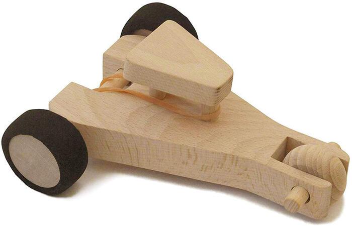 【名入れ可】●レーシングカー(輪ゴムの力で動く)知育玩具 ブロック 型はめ 木のおもちゃ パズル 男の子 女の子 赤ちゃん おもちゃ 3歳 4歳 5歳 6歳 7歳 8歳 9歳 10歳 誕生日ギフト 誕生祝い 出産祝いに♪親子 木育 家族 日本製 職人技 インテリア
