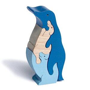 【送料無料】●南極物語 ペンギンの中に犬がいてそれぞれ太郎と次郎です。木のおもちゃ パズル 型はめ 知育玩具 積み木 赤ちゃん おもちゃ 0歳 1歳 2歳 3歳 プレゼント ランキング 2歳 3歳 4