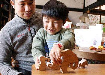 【送料無料】●ゾウのパズル木のおもちゃパズル型はめ知育玩具積み木赤ちゃんおもちゃ3ヶ月6ヶ月0歳1歳プレゼントおしゃれランキング2歳3歳4歳5歳6歳7歳〜出産祝い誕生日ギフト動物パズル男の子女の子日本製