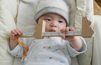 うさぎのものさし木のおもちゃ出産祝い名入れギフト日本製おしゃぶり赤ちゃんおもちゃ銀河工房人形