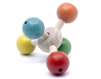 回転ペンタ木のおもちゃ出産祝い名入れギフト日本製銀河工房WoodenToys(GingaKoboToys)Japan
