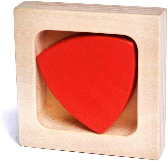 【名入れ可】●ルーローの三角形 木のおもちゃ 型はめ 数学的木のおもちゃ・知育玩具 日本製 1歳 2歳 3歳 4歳 5歳 誕生日ギフト〜出産祝い 男の子 女の子 赤ちゃん おもちゃ ヒーリング カタカタ 積み木 ブロック 誕生祝い がらがら ラトル 親子 木育 家族 かたはめ
