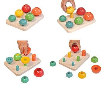 日本グッド・トイ委員会選定木のおもちゃ知育玩具銀河工房赤ちゃんベビー積木ブロックこどもつみきバリアフリー
