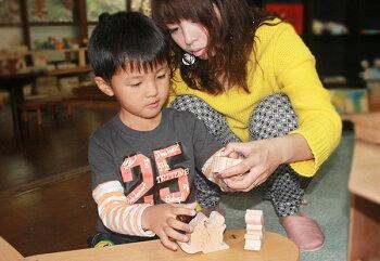 ウサギのパズル木のおもちゃ銀河工房出産祝い誕生日ギフト日本製国産名入れ