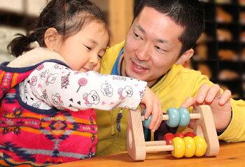 かずあそび木のおもちゃ出産祝い名入れギフト日本製おしゃぶり赤ちゃんおもちゃ銀河工房人形