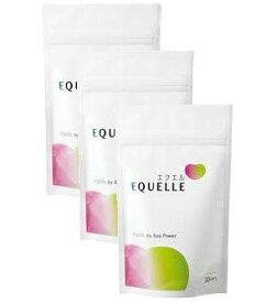 【3個セット】エクエル パウチ 120粒入 約90日分エクエル EQUELLE エクオール含有食品 大豆イソフラボン 更年期