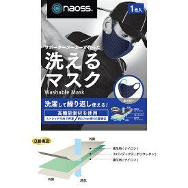 マスク 洗えるマスク NAOSS ゴルフマスク ウィルス対策 ウィルス感染予防 日本製 3層構造のFINEX使用