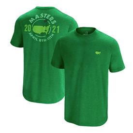 マスターズ2021 オーガスタナショナルGC メンズTシャツ ゴルフウエアグリーンTシャツ 現地より入荷 希少品 送料無料