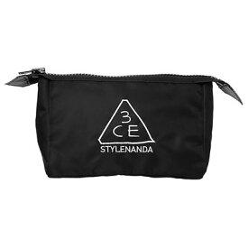 STYLENANDA 3CE スタイルナンダ スリーシーイー ポーチミニ #BLACK 韓国コスメ
