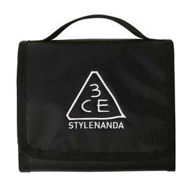 STYLENANDA 3CE スタイルナンダ スリーシーイー ウォッシュバッグスモール #BLACK 韓国コスメ