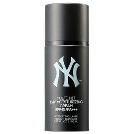 MLB GROO エムエルビーグルー マルチヒットデイモイスチャライジングクリーム SPF45/PA+++ ニューヨーク・ヤンキース 100ml 韓国コスメ【在庫処分セール】