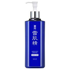 KOSE コーセー 薬用雪肌精エンリッチ (ディスペンサー付ボトル) 500mL