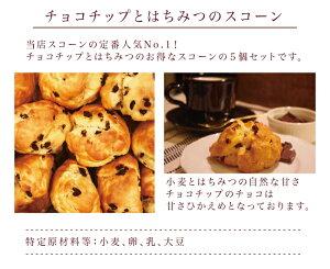 チョコチップとはちみつのスコーン/スコーン/パン/5個セット/スイーツ/焼き菓子/お菓子/東京/お土産/グッディフォーユー六本木/グッディフォーユー/グッディ・フォーユー