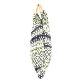 19FW【HIGHLAND2000/ハイランド2000】MerinoWoolHandbagメリノウールハンドバッグ羊毛レディースニットバッグかばん手持ちhl19fw-021