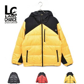 19FW【 LAST CHANCE / ラストチャンス 】EXTREME HOOD JACKET エクストリーム フード ジャケット 中綿 アウター コート メンズ レディース 切り替え lc19fw-014