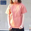 【Rakuten Fashion THE SALE/期間限定プライス】【 別注 】【 ワラ ワラ スポーツ 】 ショート スリーブ ビック Tシャツ 【 WALLA WALLA SPORT 】 SHORT SLEEVE BIG TEE 半袖 メンズ レディース ユニセックス 男性 女性 男女兼用