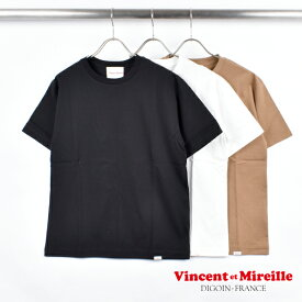【 VINCENT ET MIREILLE ヴァンソン ・ エ ・ ミレイユ 】 CREW NECK S/S TEE BASIC Tシャツ カットソー 半袖 プルオーバー レディース 女性用 VM191BS17112 バンソンエミレイユ