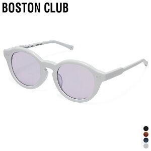 【 取寄せ可 】【 ボストンクラブ 】 チャス【 BOSTON CLUB 】 CHAS サングラス メガネ クリアレンズ 眼鏡 UV加工 日本製 ケース付き ラウンドシェイプ