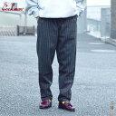 【 20FW 】 【 クックマン 】 シェフパンツ ウールミックス ストライプ 【 COOKMAN 】 CHEF PANTS Wool Mix Stripe コック COOK パンツ ウール混 イージ