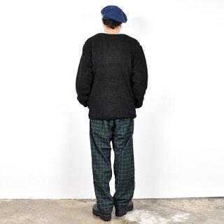 【20FW】【ワイルドシングス】フラッフィーボアノーカラージャケットWT21125N【WILDTHINGS】FLUFFYBOANOCOLLARJACKET長袖ブラックベージュオリーブカーキブラウンユニセックス男性女性男女兼用メンズレディース
