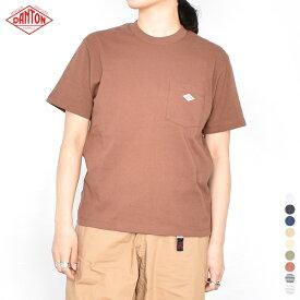 【 20SS 】【 ダントン 】 ポケットTシャツ JD-9041 【 DANTON 】 POCKET T ポケット Tシャツ ポケT 半袖 白 T シャツ クルー ネック コットン 無地 Tshirts メンズ レディース 男性 女性 男女兼用