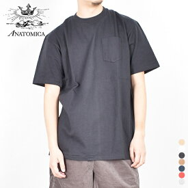 【 20SS 】【 アナトミカ 】 ポケット Tシャツ 530-541-23 【 ANATOMICA 】POCKET T-SHIRTS ポケT 半袖 TEE メンズ レディース 男性用 女性用 日本製 STAY HOME