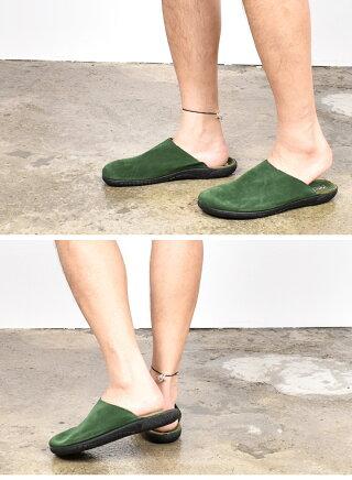 【20SS】【ザッパティラス】スリッパ【Zapatillas】サンダルメンズレディース男性女性男女兼用スウェードレザースエードルームシューズ靴ブラックグリーン41424326cm27cm28cmおうち時間