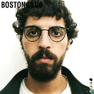 【 取寄せ可 】【 ボストンクラブ 】 バース 【 BOSTON CLUB 】 BARTH メガネ ボストン シェイプ クリア レンズ 丸めがね 眼鏡 伊達 サングラス UV加工 デミ チタン メンズ レディース 日本製 ケース