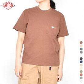 【 20SS 】【 ダントン 】 ポケットTシャツ JD-9041 【 DANTON 】 POCKET T ポケット Tシャツ ポケT 半袖 白 T シャツ クルー ネック コットン 無地 Tshirts メンズ レディース 男性 女性 男女兼用 STAY HOME