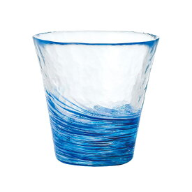 アデリア 津軽びいどろ 12色のグラス 紺青 こんじょう F-71453