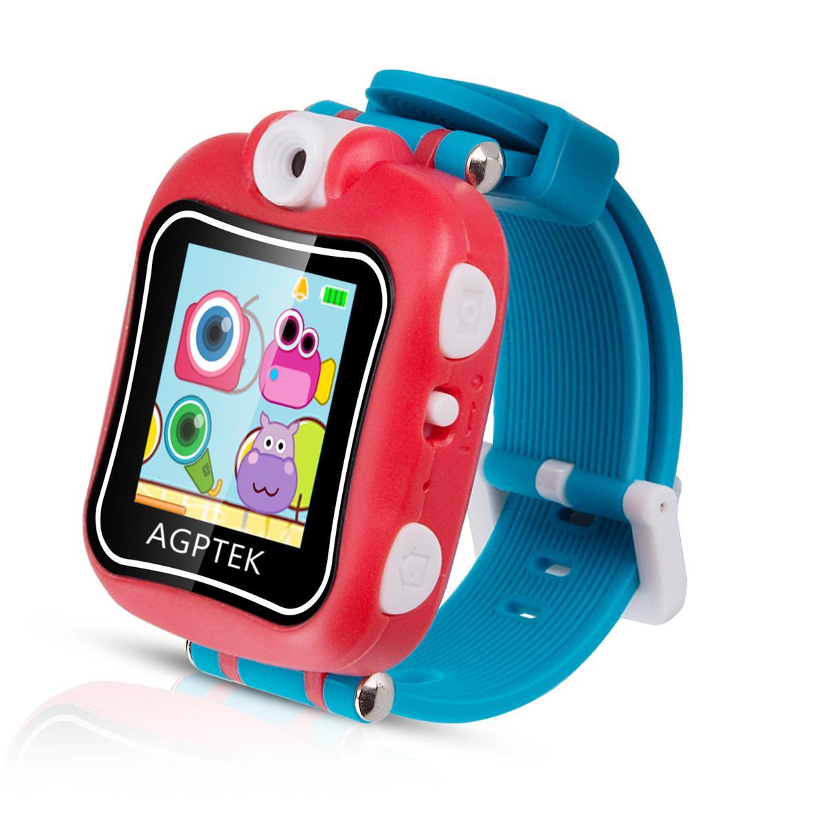 AGPTEK キャラクター時計 プレイウォッチ おもちゃ 子供用 スマートウォッチ 多機能腕時計 タッチパネル 日本語取扱説明書付属 保証1年 クリスマスプレゼント ギフト