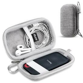 sandisk ssd ケース SanDisk 外付SSD 1TB 2TB 500GB 250GB エクストリーム ポータブル 対応 専用保護用キャリングケース 旅行収納グレー シンプル おしゃれ