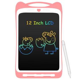 電子パッド 電子メモ帳 子供用 ギフト 誕生日プレゼント 文房具 デジタルペーパー 簡単操作 書きやすい 電池交換可 バッテリー一年持ち ピンク/ブルー2色選択可