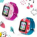 AGPTEK スマートウォッチ 子供 キッズ おもちゃウォッチ キャラクター時計 プレイウォッチ おもちゃ 子供用 多機能 腕…