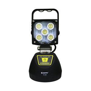 LED作業灯15W投光器led充電式スタンドマグネット付きモバイルバッテリースマホ充電可