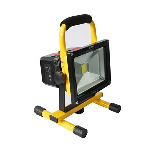 投光器led充電式30W3000lmCOBタイプコードレス投光器着脱バッテリー式充電池式2モード