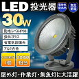 省エネルギーLED投光器/看板・作業灯/屋外灯/20W