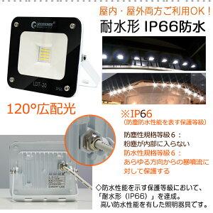 超薄型投光器LEDサーチライトLED作業灯スポットライト