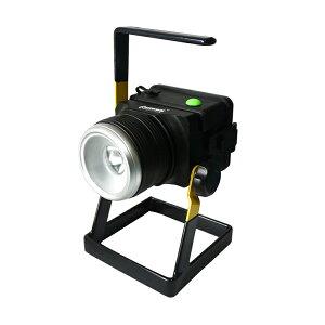 ライトアップ 投光器 led 12W 1200LM 米国CREE社 XM-L T6 懐中電灯 LED 投光器 スタンド コードレス ポータブル投光器 屋外 照明 LEDライト 作業灯 ワークライト 携帯式 高輝度 集魚灯 キャンプ (GH10-S)