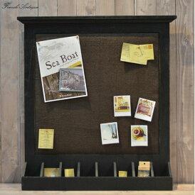 【送料無料】壁掛け インテリアおしゃれ メモボード アンティーク カントリー 家具 雑貨 カントリー調 インテリア雑貨 木製